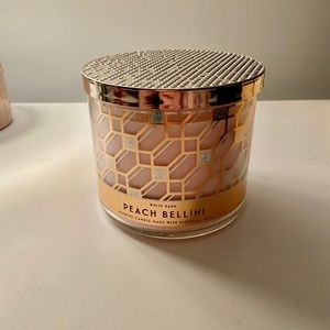Peach Bellini Bath and Body Works Candle